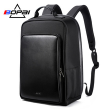 BOPAI 15.6 Inch Laptop Backpack USB Charge Function Anti Theft 15-17 Inch Notebook Backpack Large Capacity Men Rucksack Backpack