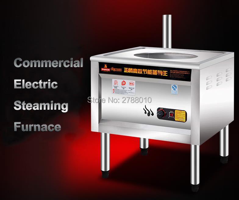 Electric Steam Stove Commercial Steam Furnace Bun/Rice Roll Steam Boiler Gas/Electric Dual Use y65-1 commercial nine hole gas furnace