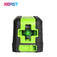 XEAST MINI XE M02 2 Lines Green Laser Level Self Leveling Cross Laser Line Portable Green