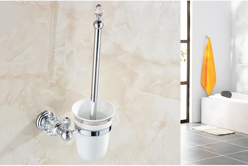 titular, banhado a ouro produtos banheiro escova