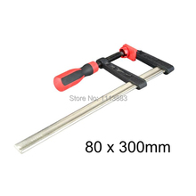 80 x 300mm F-Clamp Woodworking Clamp