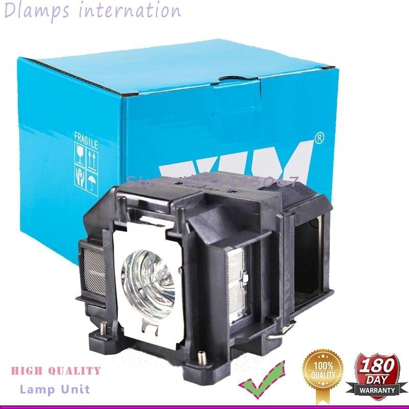 Lampe de Projecteur de rechange ELP67 V13H010L67 pour EB-S02 EB-S11 EB-S12 EB-SXW11 EB-SXW12 EB-W02 EB-X02 EB-X11 EB-X14 EB-X15 etc