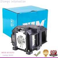 Vervangende Projector lamp ELP67 V13H010L67 voor EB-S02 EB-S11 EB-S12 EB-SXW11 EB-SXW12 EB-W02 EB-X02 EB-X11 EB-X14 EB-X15 etc