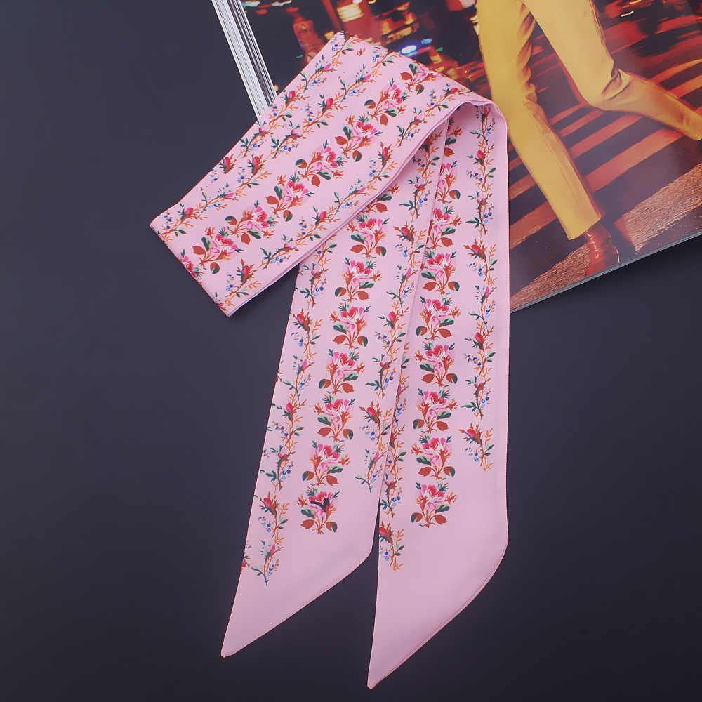 絹のスカーフ 2019 新日本と韓国細断花スカーフスカーフ高級ショールとラップヘッドスカーフ