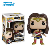 FUNKO POP Official Original DC Wonder Woman Characters Vinyl Doll Action Figures Collection Party Gift Model Toys With Box
