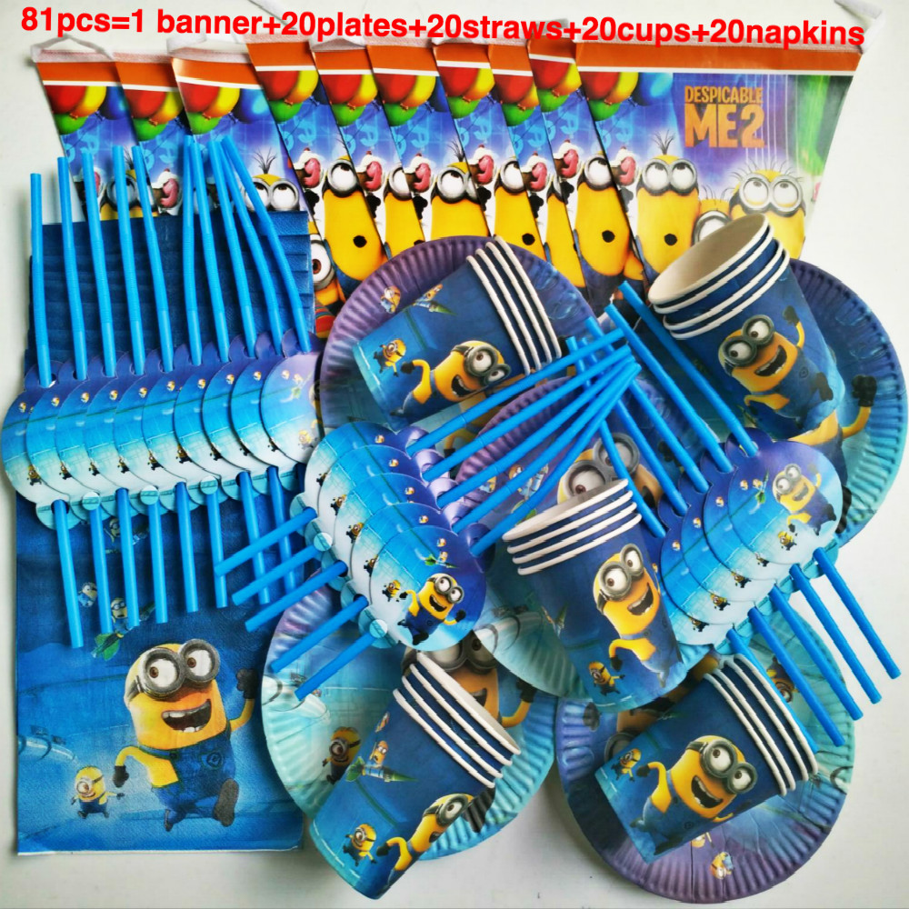 Minion Rush Lover Adult Happy Birthday Kids Child Party
