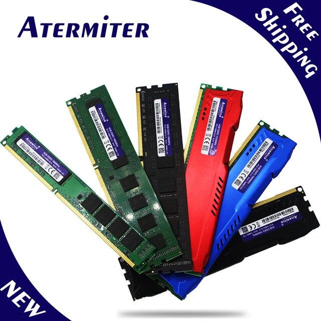 Nuevo 8 GB DDR3 PC3-10600 1333 MHz para PC de escritorio DIMM memoria RAM 240 pines (intel amd) sistema totalmente compatible de radiador
