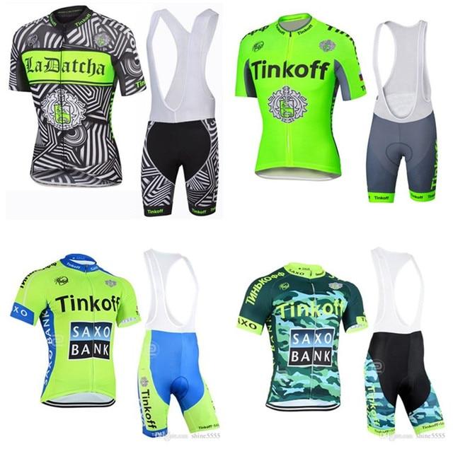 756b3a627 Tinkoff Saxo Bank Fluo green Short Sleeve cycling clothing 2018 bike  bicicleta mtb cycling jersey maillot ropa camisa ciclismo