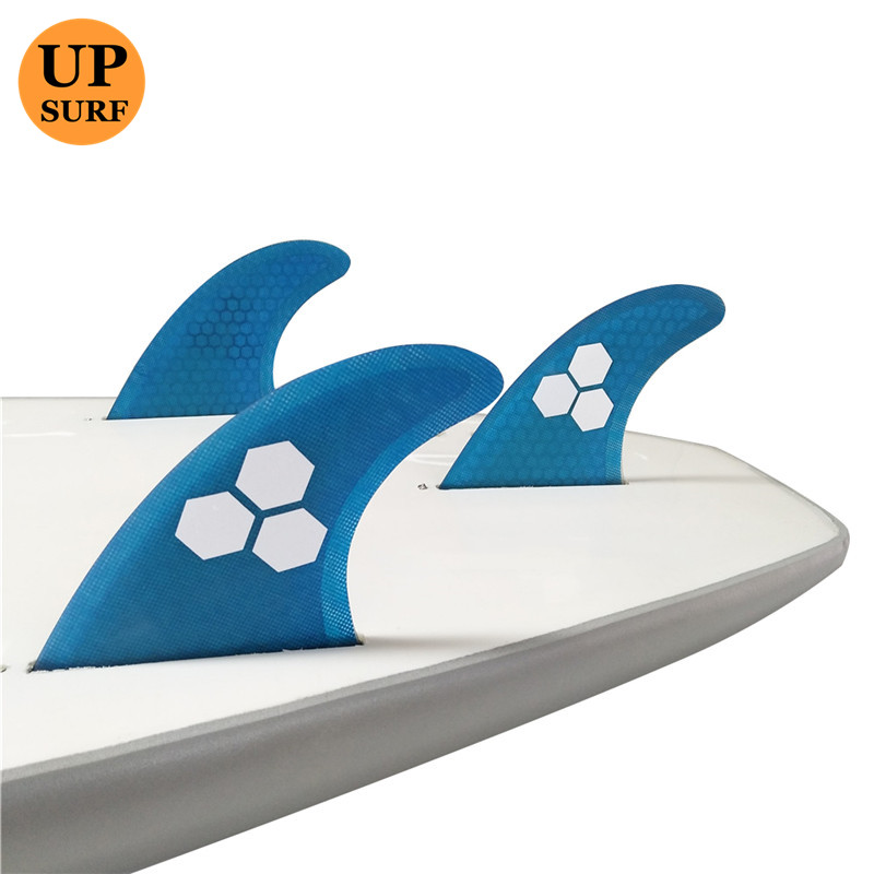 Surf Future Fins Blue Honeycomb Fin M Өлшемі Surfboard Fin - Су спорт түрлері - фото 5