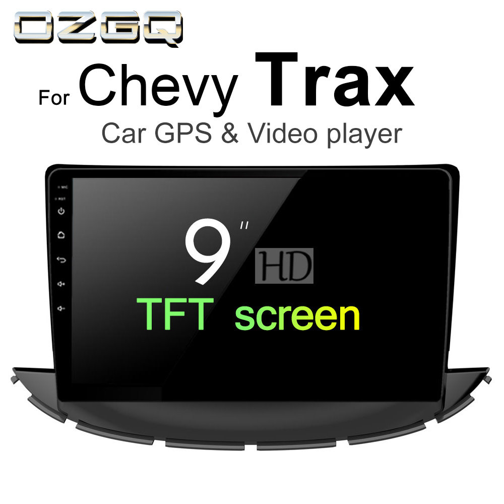 OZGQ Android 7.1 Car Player For Chevrolet Chevy Trax 2017 2018 Screen Auto GPS Navigation BT Radio TV Audio Video Music Stereo цена