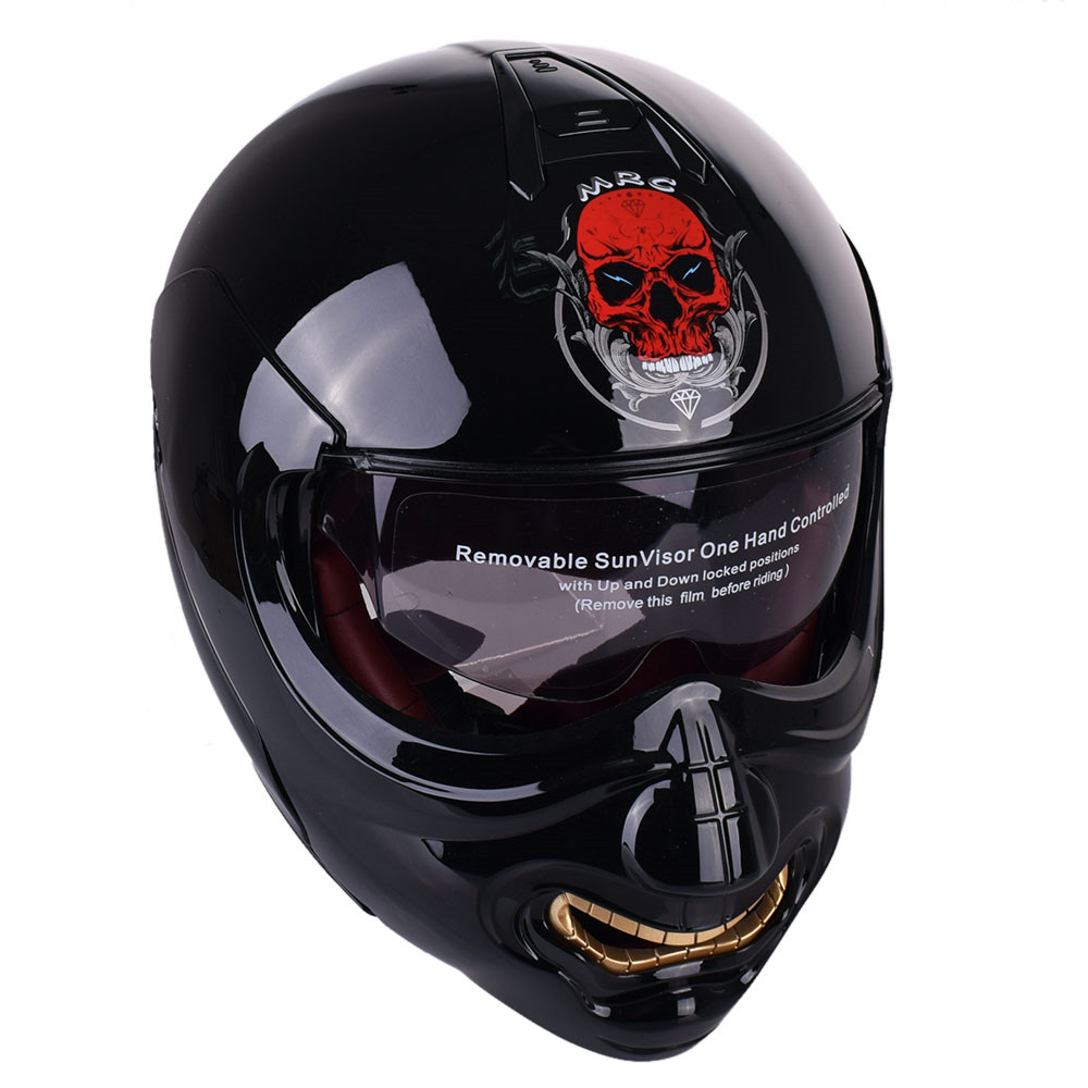 buy monster face modular motorcycle helmet full face helmet motobike. Black Bedroom Furniture Sets. Home Design Ideas