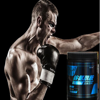 400g Glutamine powder, accelerate muscle recovery, supplement nutrition powder for fitness, alleviate muscle soreness