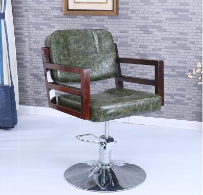 Парикмахерские ретро Утюг промышленных ветер волосы стул Прямая с фабрики Парикмахерская специальный стул - Цвет: 16