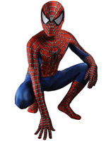 USA Raimi Spiderman Cosplay Costume 3D Printe Spandex Halloween Zentai Jumpsuit