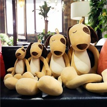 купить Creative Lovely Dog Short Plush Toy Stuffed Animal Dogs Plush Doll Best Gift For Children & Friends по цене 1515.98 рублей