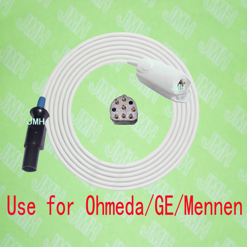 Compatible with Ohmeda,GE,Mennen Pulse Oximeter monitor , Adult finger clip spo2 sensor.7pin.Compatible with Ohmeda,GE,Mennen Pulse Oximeter monitor , Adult finger clip spo2 sensor.7pin.