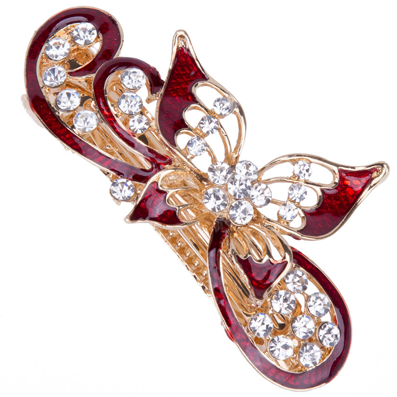 Chinese Style Hollow Out Butterfly Dragonfly Comb Girl Vintage Exquisite Elegant