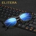 Elitera alta qualidade anti fadiga óculos anti-radiação de raios azuis dos homens resistentes óculos de armação oculos de grau google óculos