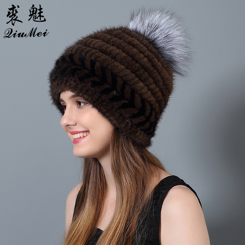 QiuMei Ženske klobuke iz naravne kože iz umetne kože Novo bežice - Oblačilni dodatki - Fotografija 5