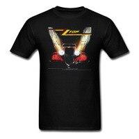 ZZ TOP Eliminator T Shirt Men And Women Rock Tee Big Size S XXXL