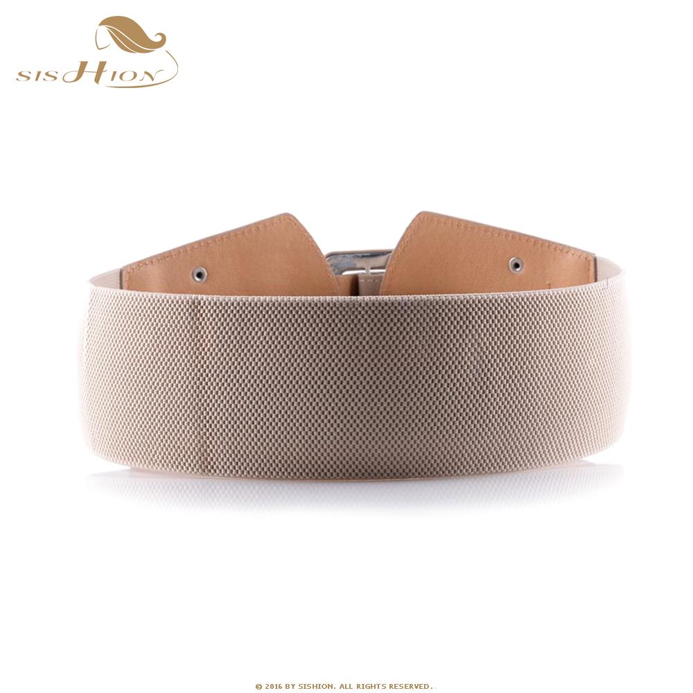 Compre SISHION Cinturones Anchos De La Vendimia Para Las Mujeres ... ed70ff785df5