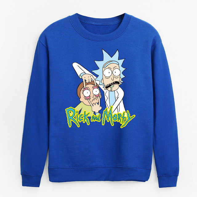 RICK AND MORTY SWEATSHIRT (7 VARIAN)