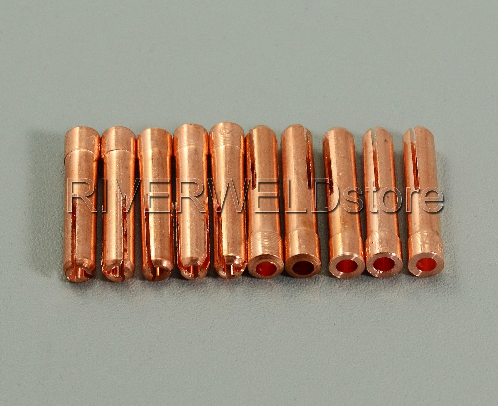 TIG Collets 1.6mm /& 1//16 Fit QQ150A TIG Welding Torch Parts Consumables 10pk