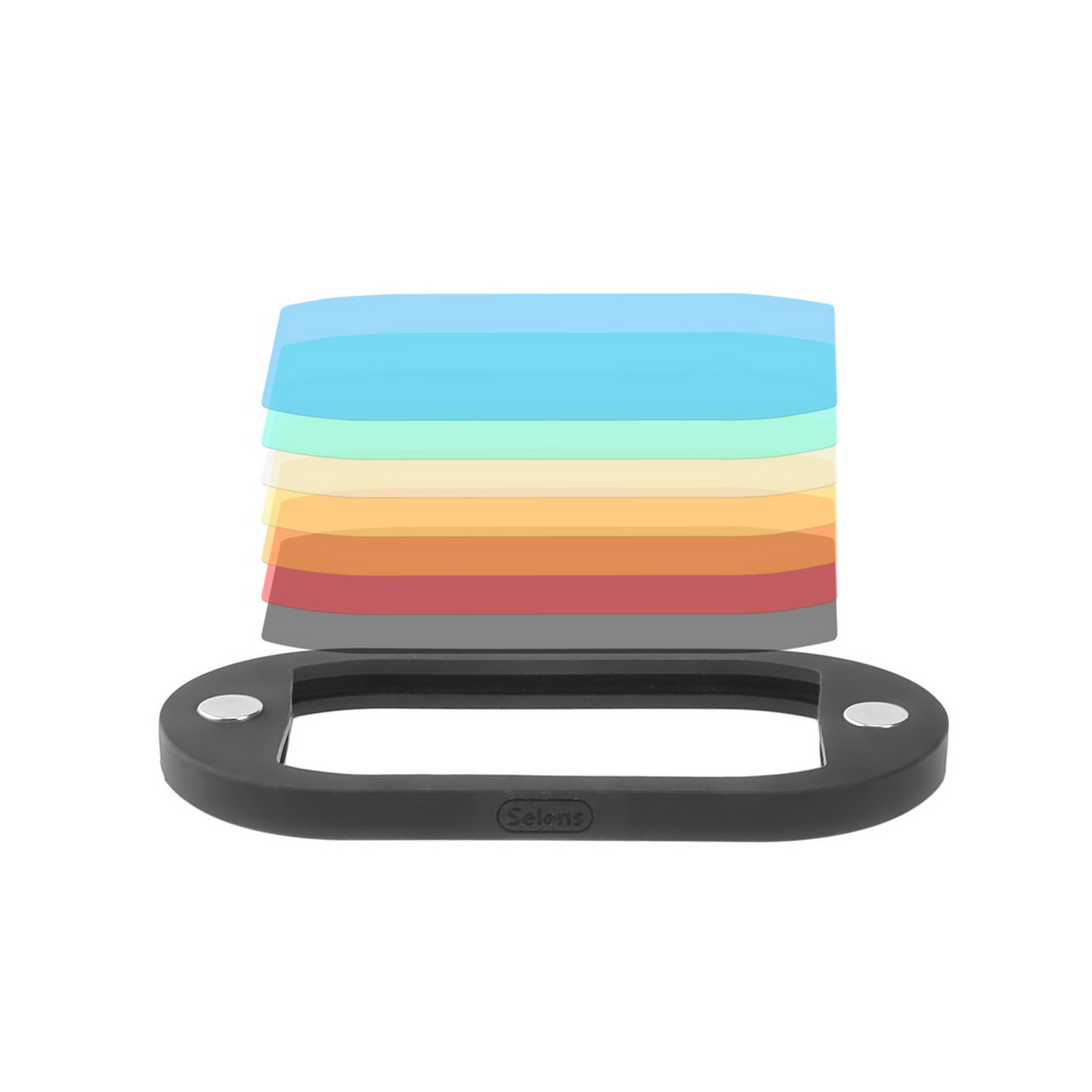 Ready Stock 8PCS Selens Colorful Flash Gel Filter for DSLR Camera For Canon Nikon Yongnuo Flash Speedlite i m ready for maths time tables flash cards