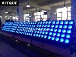 10 sztuk sprzęt oświetleniowy na scenie 25x30 w rgb led matrix panel blinder cob led dmx 5x5 panel LED RGB światło Matrix