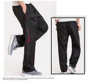 Image 4 - Grandwish男性の冬のサイズウールインサイド冬暖かい男性厚いパンツプラスサイズ6XLメンズフリースパンツズボン、PA782