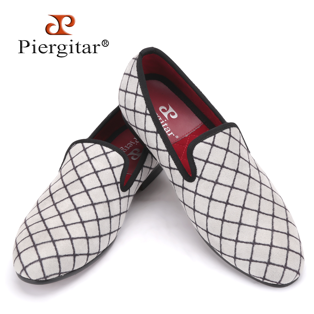 Four Colors Lattice Men Velvet shoes Men Fashion Loafers Plus Size Smoking Slipper Men's Flats Size US 4-17 Free shipping flower lattice velvet fabric men shoes men smoking slipper prom and banquet male loafers men flats size us 4 17 free shipping