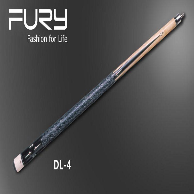 Fury pool cue Model DL-4 /billiard cue /American Stick billiard /11.75mm &12.75mm  (optional) 2017 poinos break pool cue punch