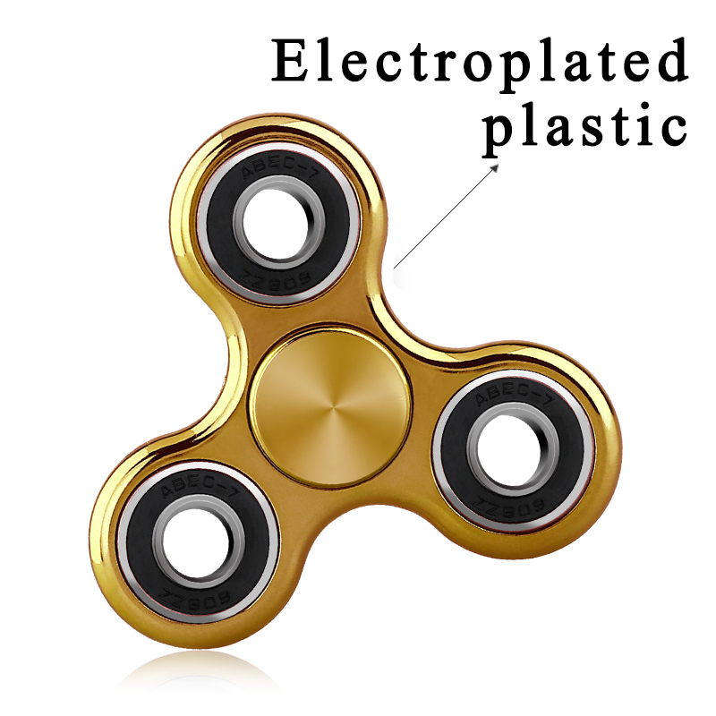 Hand Spinner Toq Brand Fid Spinner Plating Gold EDC Finger Fi