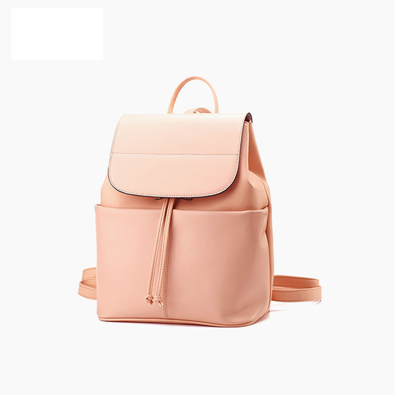 LOEIL Women's Backpack Leather Fashion Tide Mom Bag Tote Leather Buckle Buckle double buckle glitter backpack