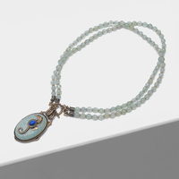 Amorita boutique Seahorse design pendant vintage necklace