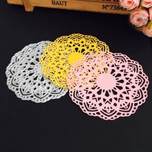 Flower Doily Die Cuts Metal Die Cutting Dies til DIY Scrapbooking / fotoalbum Dekorativ Embossing DIY Papirkort Craft