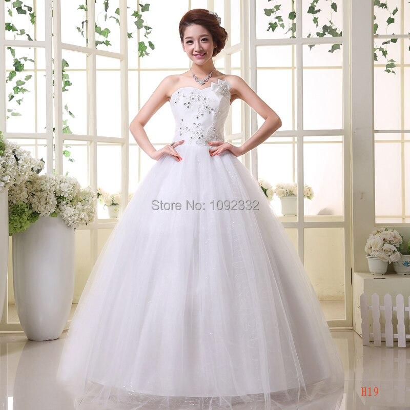 Z Stock 2016 New Plus Size Women Bridal Gown Wedding Dress