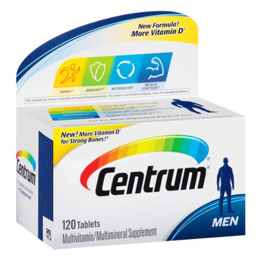 Centrum Ultra Men Multivitamin multimineral Supplement 120 Pcs Free Shipping free shipping ultra mega gold multivitamin 90 caplets