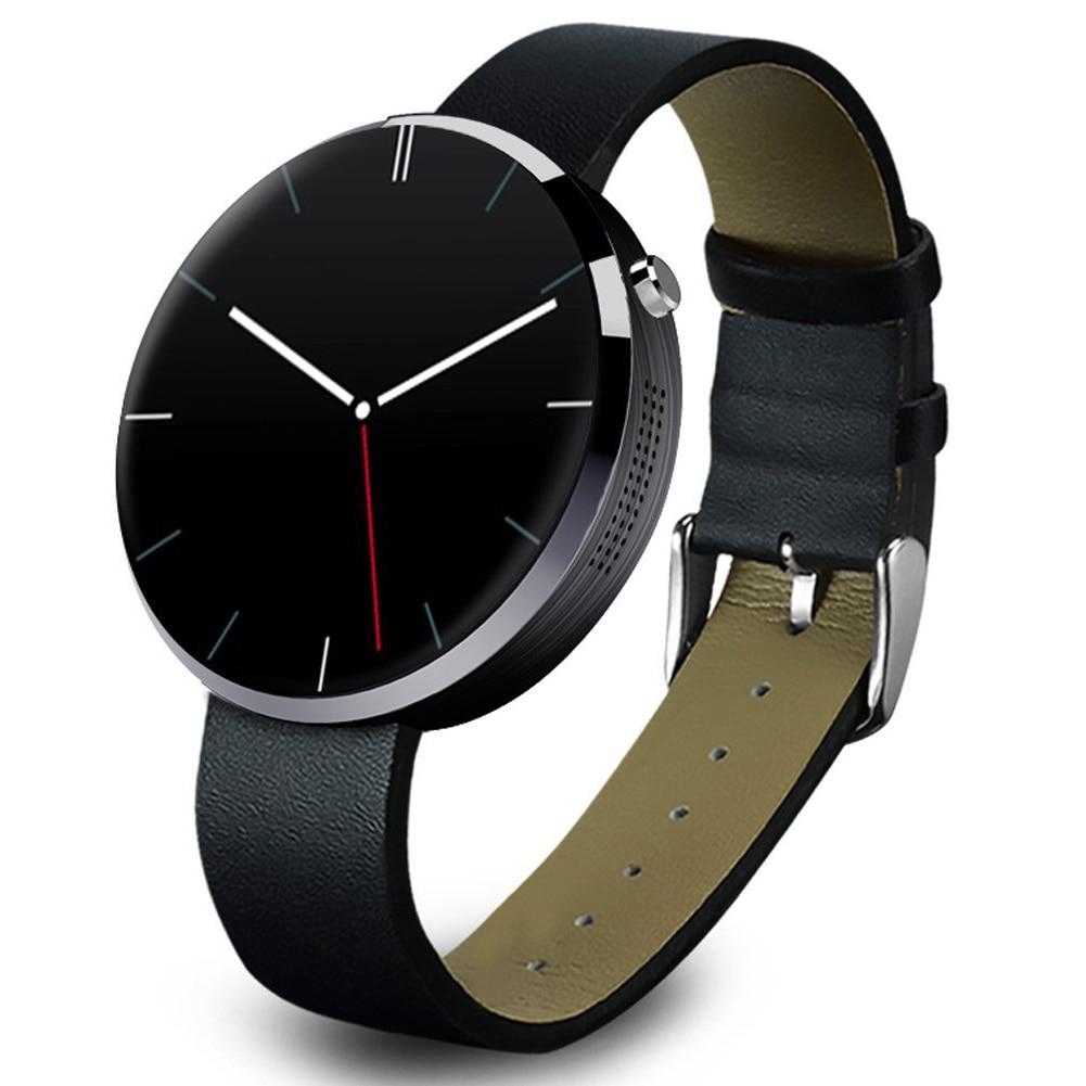 DM360 Bluetooth SmartWatch Handy-Uhr fuer Android iOS Phone mit Kamera Schwarz цена
