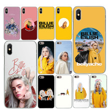 Billie eilish rainbow Ocean Eyes Soft TPU covers For iPhone 7 case Phone Case For iPhone X 5 5S SE 6 6SPlus 7 8 Plus XS MAX XR(China)