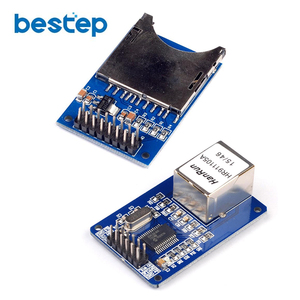 Сетевой модуль ENC28J60 Ethernet LAN, схема для 51 AVR LPC + модуль SD карты, считыватель сокетов