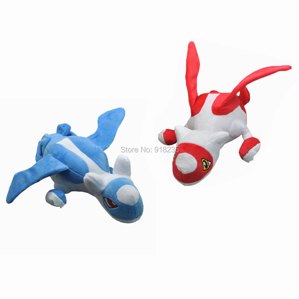 10 Lot 12 30CM Anime Latias Latios Stuffed Plush Toys
