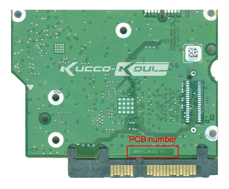 hard drive parts PCB logic board printed circuit board 100653600 for Seagate 3.5 SATA ST1000DM003 ST2000DM001 hard drive repair