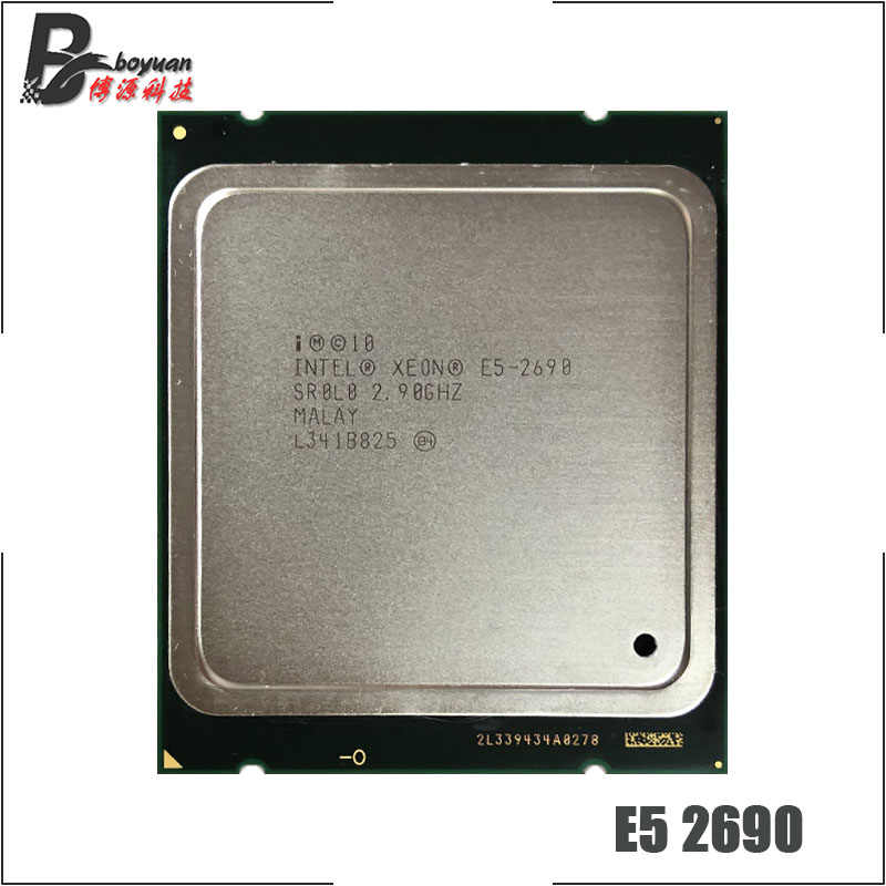 Intel Xeon E5-2690 E5 2690 2.9 GHz Eight-Core Sixteen-Thread CPU Processor 20M 135W LGA 2011
