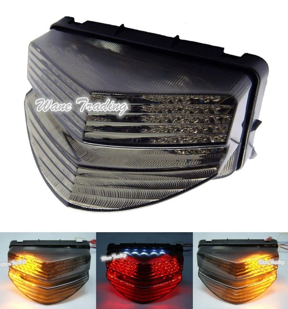 waase For Honda CBR600F4i CBR 600 F4i 2001 2002 2003 Rear Tail Light Brake Turn Signals Integrated LED Light front headlight headlamp head light lamp upper stay bracket fairing cowling for honda cbr600f4i cbr 600 f4i 2001 2002 2003 2007
