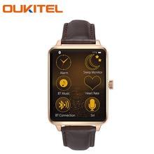 Oukitel a58 smart watch herzfrequenz smartwatch für android ios smartphone 280 mah 1,6 zoll ips lcd bluetooth 4,0 call reminder