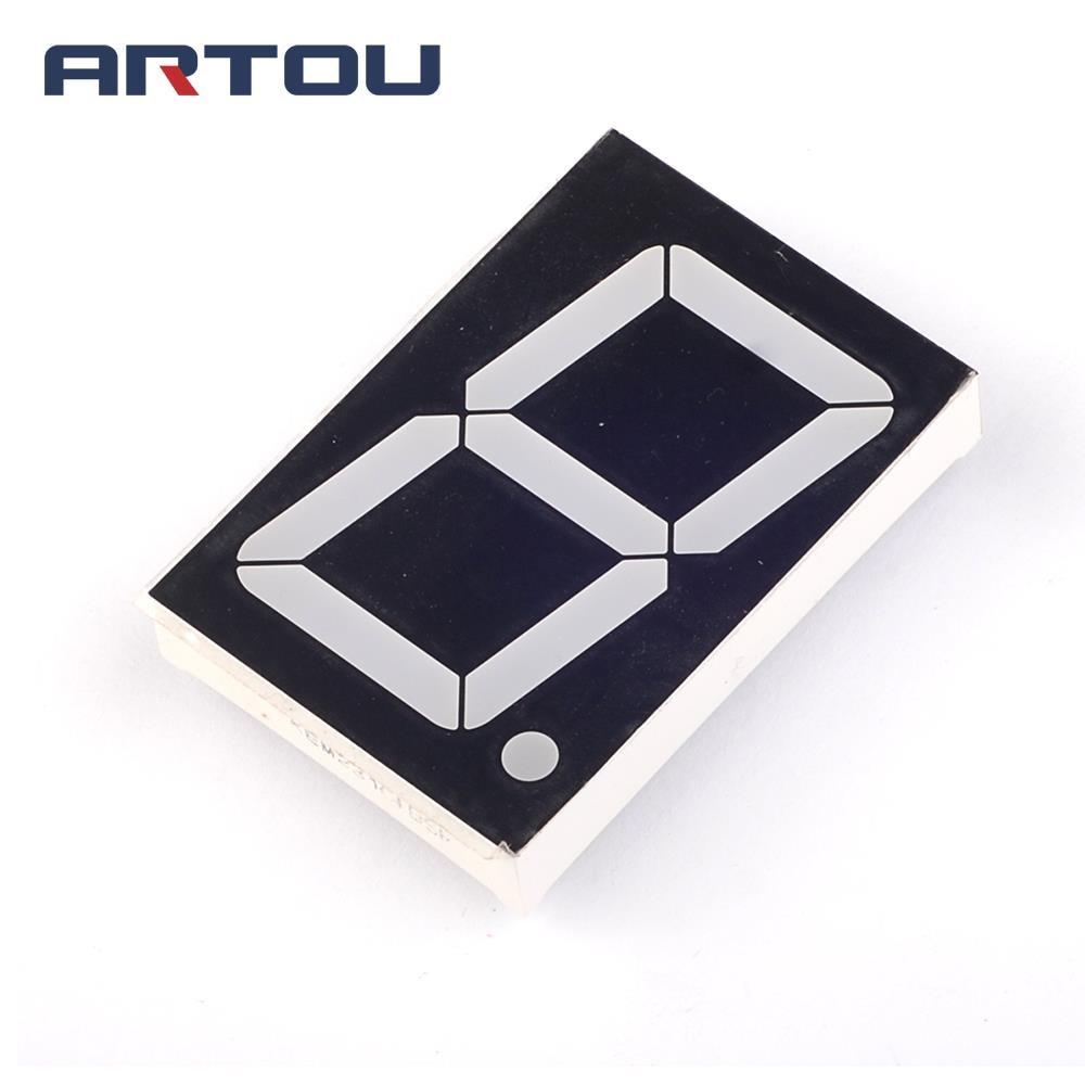 10pcs Common Cathode Ld 5161ag 1 Digit 056 Green 7 Segment Led Ams1117 33v 1a Voltage Regulator Electrodragon Anode 1bit Digital Tube 18 Inch Red Display