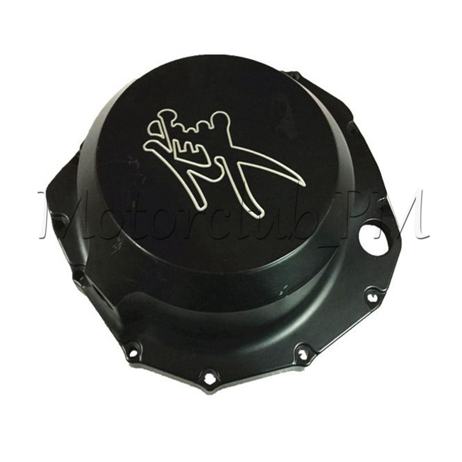 1PCS Black Motorcycle Engine Stator Crankcase Cover For Suzuki Hayabusa GSX1300R 1999-2007 High-Quality engine stator cover crankcase for suzuki hayabusa gsx1300r 1999 2015 left side