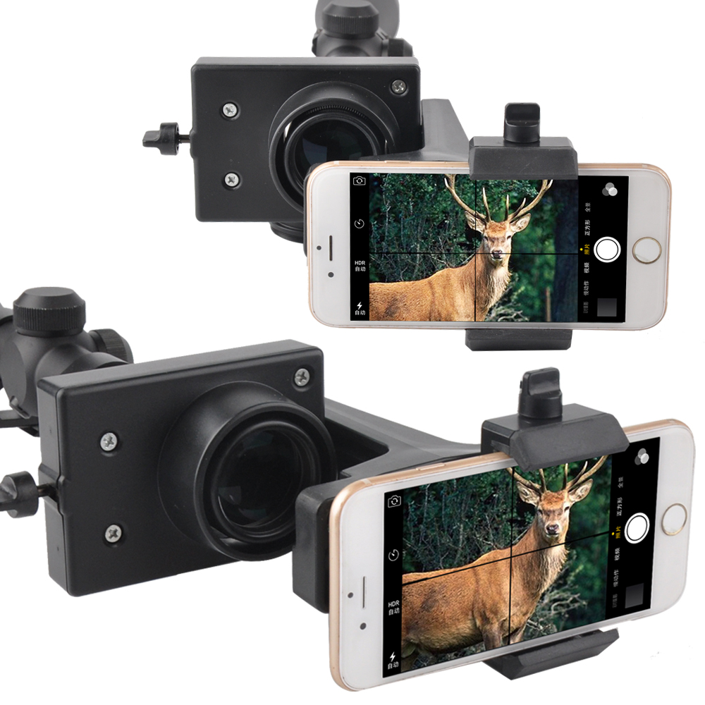 ФОТО Rifle scope Smartphone Mounting System- Smart Shoot Scope Mount Adapter for Rifle Scopes (Durable Plastic)