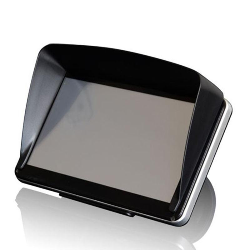 יוניברסל 7 Inch רכב GPS Navigator שמשיה מגן שמש צל אנטי בוהק מכונית אביזרי רכב מכסה עבור GPS ABS סטיילינג רכב 1 Pc